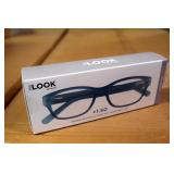 "LOOK ""The Artist"" Blue Rubber Reader 1.50 &  2.0"