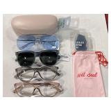 LOT: (2,000) Sunglasses & Readers w/ Cases &