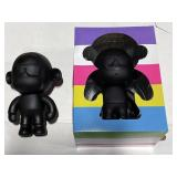 LOT: 3 Monkey Figurines & Branded Boxes