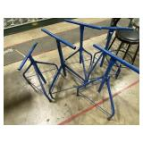 (5) T-Stands & (6) Metal Stools