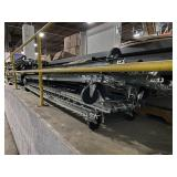 Sections of Hyrtol Gravity Feed Roller Conveyor