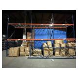 "Sections of Pallet Racking, 42""x96""x192"""