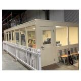 Modular Warehouse Office Structure