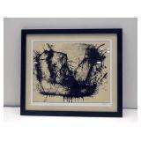 """Signed Lithograph by Bartus Bartolome (27""""x31"""")"""