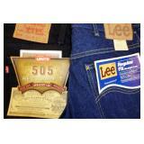 Lee, Levis, Bugle boy & Others