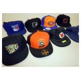 Collegiate, MLB, NHL Caps