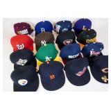 NFL, MLB, & College Caps