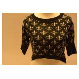 Womens Crop Top Sweater