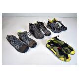 Hiking Boots, Sneaker, & Water Shoe
