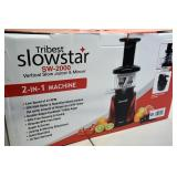 Tribest Slowstar SW 2000 2 in 1 Machine