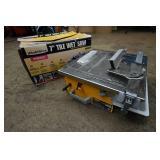 "Workforce Model THD550 7"" Tile Wet Saw"