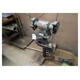 Wilton Challenger Mounted Dual End Bench Grinder