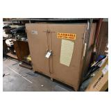 Flammable Cabinet w/Contents (Coating Spray, Etc.)
