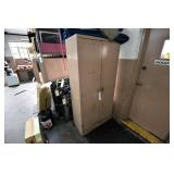 Steel Cabinet w/Contents (Spray Paint,Etc.)