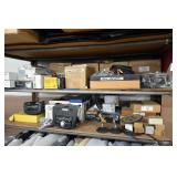 Contents On Shelving (Radios and Components)
