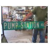 PUMP STATION SIGN