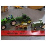 4 OLD TRACTOR TOYS