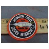 NOS VINTAGE FISHING LURE PATCH