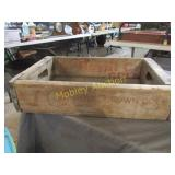CROWN ROYAL WOODEN CRATE
