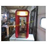LIGHTED TELEPHONE HOLDER