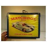 VINTAGE MATCHBOX COLLETORS CASE&CARS- 1968