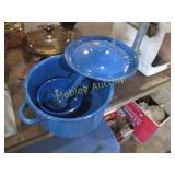 BLUE POTS&PAN
