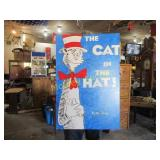 CAT IN THE HAT PAINTED POSTER