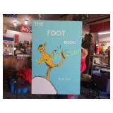 THE FOOT BOOK HAND PAINTED POSTER