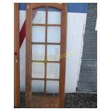 DOOR WITH WINDOWS-30X80