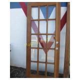 DOOR WITH WINDOWS-32X80