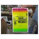PAPER ADVERT. HARLEM WIZARDS