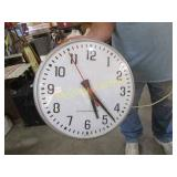 LARGE WALL CLOCK-NOT TESTED