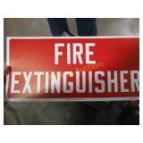 FIRE EX. SIGN