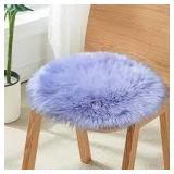 Junovo Faux Fur Seat Cushion - Set of 4