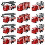 Metal Truck Rescue Team DieCast Set - 12 pcs