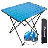 Mssowkan Outdoor Camping Table - Blue