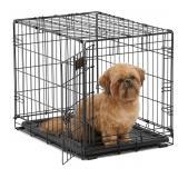 """MidWest Single Door ICrate Metal Dog Crate, 24"""""""