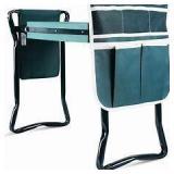 Folding Garden Kneeler And Seat Bench Green