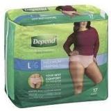 Depends Underwear - Women