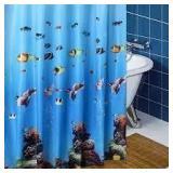 Waterproof PEVA Shower Curtain