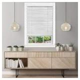 Bos Window Coverings - WHITE 22x72 in