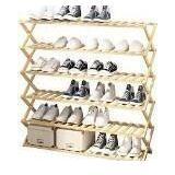 UDEAR Bamboo Shoe Rack