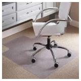 Plastic Mat for Under Office Chairs - Clear