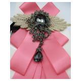 Fuerjia Pink Wedding Pin
