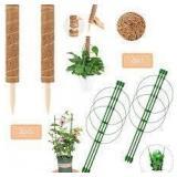 Moss Pole Plant Trellis Kit - Set of 4