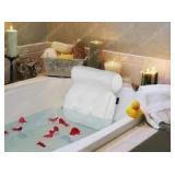 Basic Concepts Luxury Bath Pillow - White