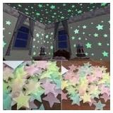 Pack of Glow in the Dark Stars w/adhesive