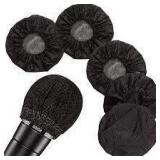 Microphone Covers - Disposable Black