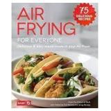 Dash Air Frying for Everyone-Hardcover Recipe Book