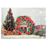 Christmas Balloon Set with Arch - 100 pcs